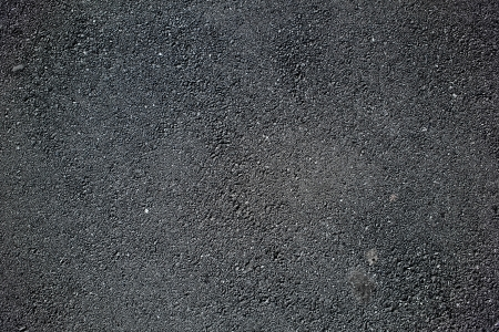 Asphalt surface of road