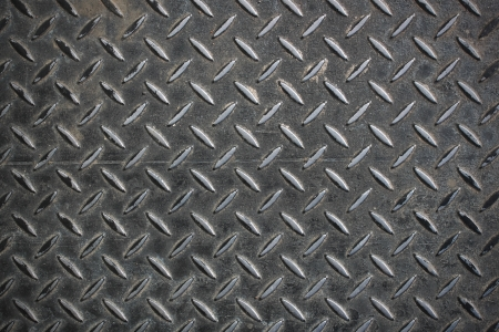 metal grate: Lined grid metal surface background Stock Photo