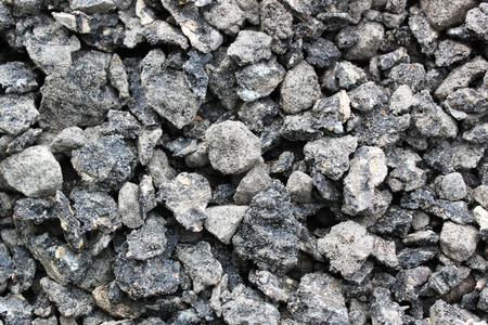 Big road gravel surface photo