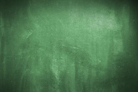 Cleaned green chalk board   surface