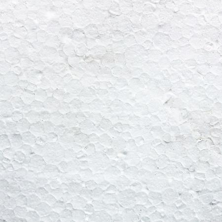 Pattern of the white styrofoam surface
