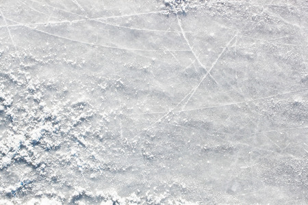 Ice hockey field surface