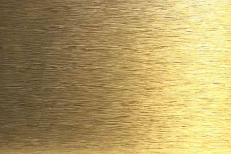 scratched: Golden metal background Stock Photo