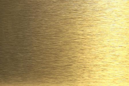 scratched metal: Golden metal background Stock Photo