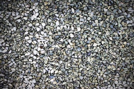 Pattern of the small gravel background photo