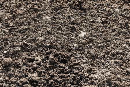 soil conservation: Soil for agriculture, top view