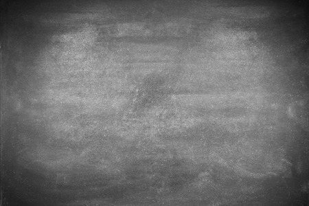 Blank chalkboard or blackboard background, view from top Imagens - 41855920