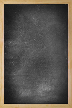 Clean chalk board Stock Photo
