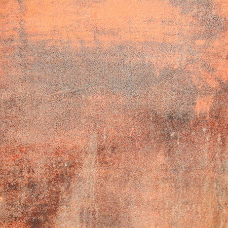 oxidate: Surface of metal in red rust