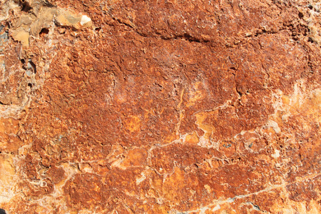 red stone: Red stone surface