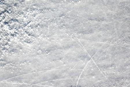 hockey sobre cesped: Ice hockey field surface