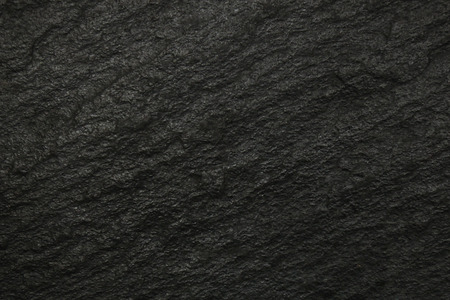 on the surface: Black surface of slate