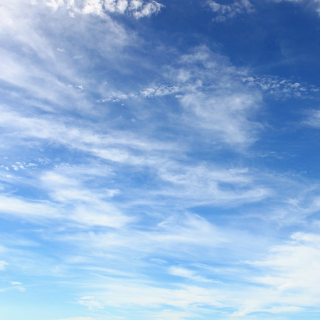 Blue sky full of small clouds