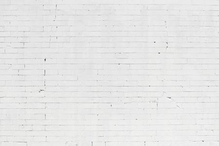 Bianco muro di pietra di mattoni