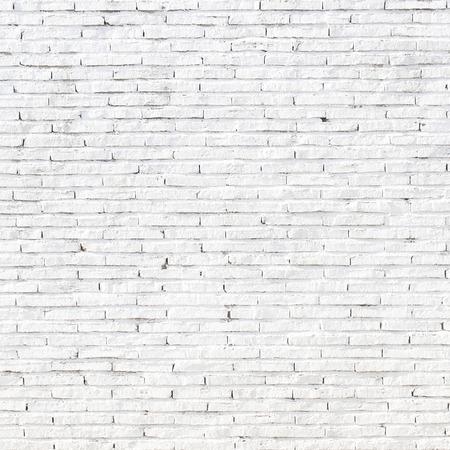stone wall: White stone wall of old bricks Stock Photo