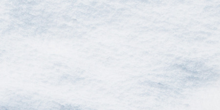 surface view: Snow as blank surface, view from top