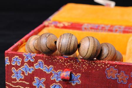 rosewood: Rosewood bracelets Stock Photo