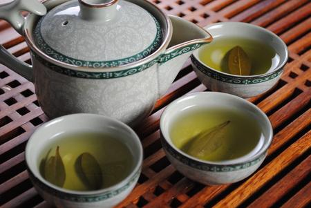 Chinese green tea Archivio Fotografico