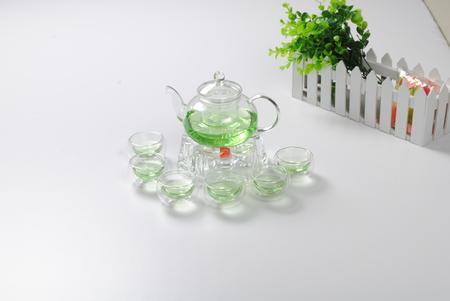 tea set Archivio Fotografico