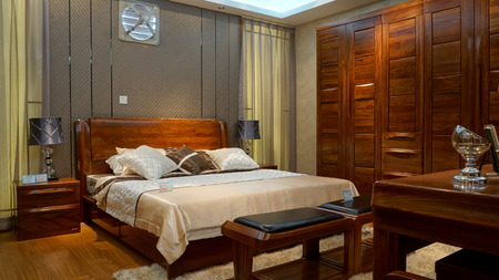 Luxurious bedroom Editoriali