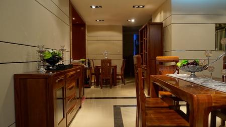 Restaurant corner Editorial