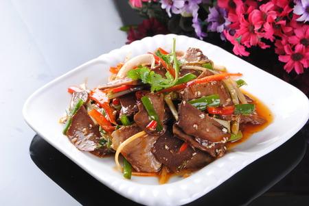 Sichuan dish of  Fuqi feipian