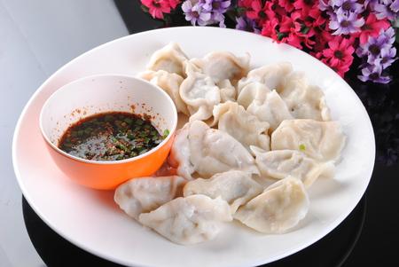 Chinese style dumplings Archivio Fotografico