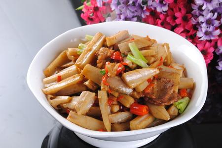 Golden Lotus Root dish