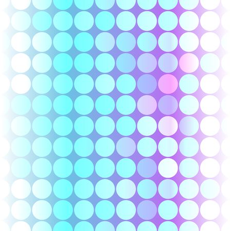Colorful circles pattern.