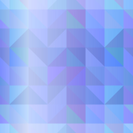 Vector seamless polygonal blue abstract background.