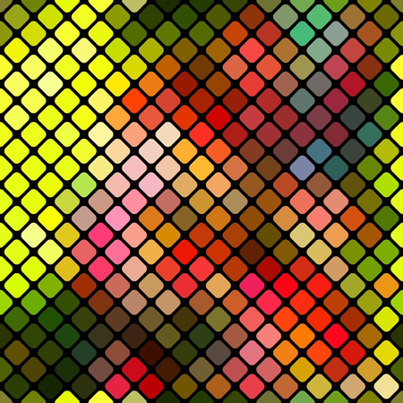 Colored seamless geometric pattern of rhombuses.