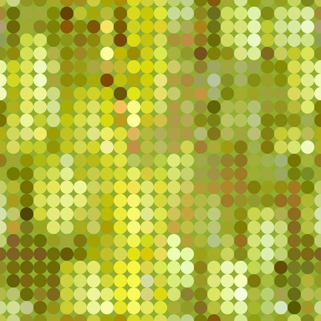 Colored seamless geometric pattern of dots.