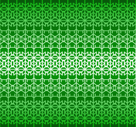 Green geometric vector seamless ornament.