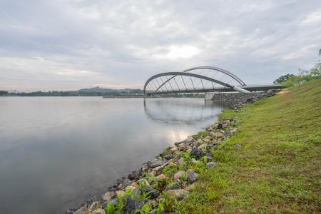 Pedestrian Bridge, Putrajaya Dam, Putrajaya Malaysia photo