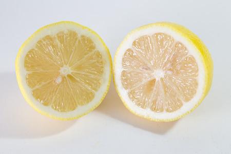 from halves: Lemon Cut To Halves