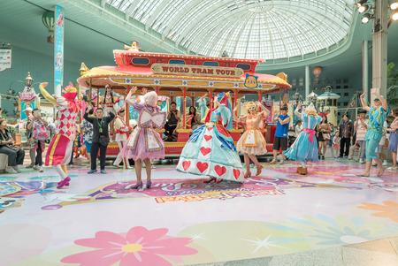 Seoul, Korea - mei 2016: Lotte World, een beroemd pretpark in Seoul Redactioneel