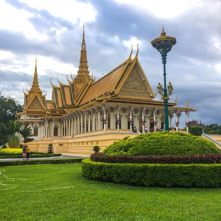 cambodia: Royal Palace, Phnom Penh, Cambodia Stock Photo