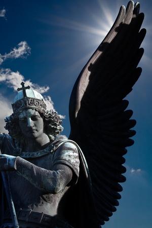 angel cemetery: Monument in berlin germany