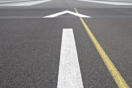 Guidelines on an airport runway Stock Photo - 10346713