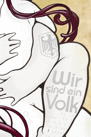 sprayer: Graffiti of the street art artists in Berlin