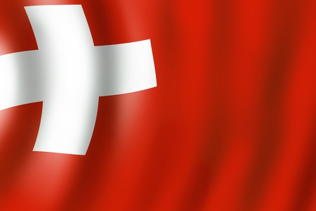 Background with swiss flag  motive photo