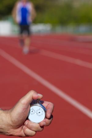 Historic stop watch time measurement Banque d'images