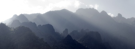 Karst mountains of north laos Stock Photo - 11678157