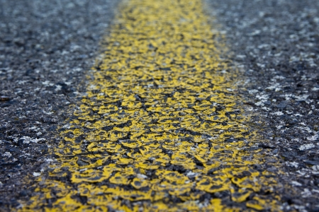 Perspective view of rotten street surface Stock Photo - 14844809