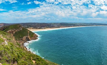 Tremendous Robbberg nature reserve coastline at Plettenberg bay South Africa