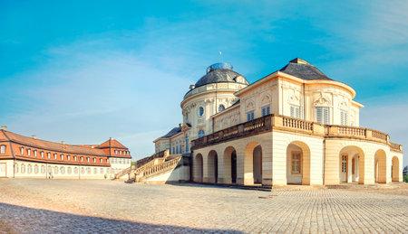Castle Solitude in Stuttgart, Germany. Editorial