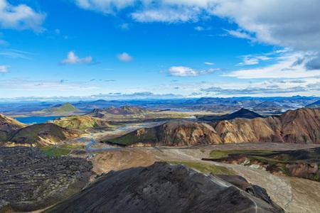 Landmannalaugar iceland mountains