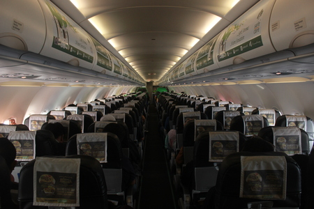 All-Economy Class Cabin of Citilink Indonesia Airbus A320-200