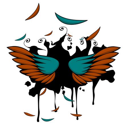 wings vector: Wings Vector Art