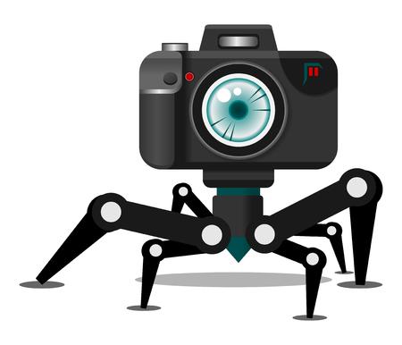 artistic photography: Camera Robot Character